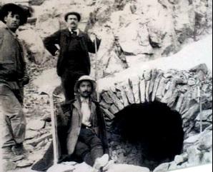 1478-1480 : percement du tunnel du Viso entre l'Italie et la France. Traversette